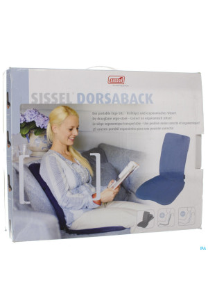 Sissel Dorsaback-pad Rugsteun+assise Grijs2827095-20