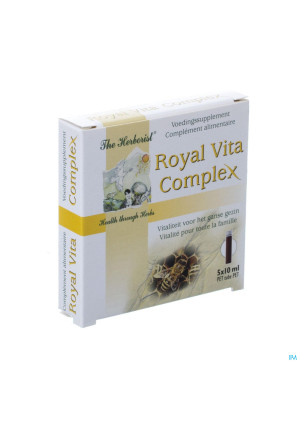 Herborist Royal Vita Complex Vials 5x10ml 07892880607-20