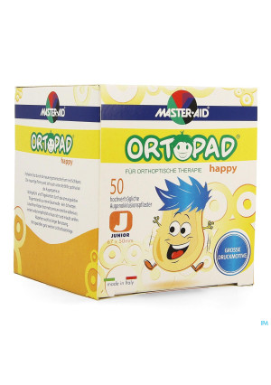 Ortopad Happy Junior Oogkompres 50 701312940633-20