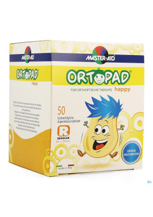 Ortopad Happy Regular Oogkompres 50 701342940740-20