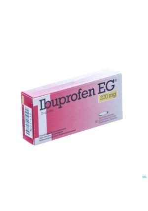 Ibuprofen Eg 200mg Omhulde Tabl 30 X 200mg3021433-20
