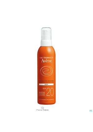 Avene Zon Spray Ip20 Z/parabeen 200ml3038049-20