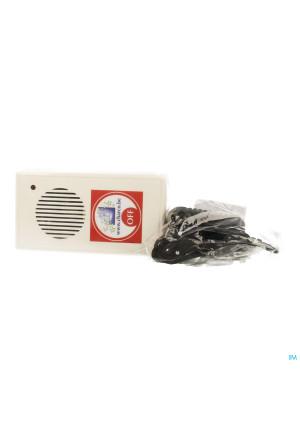 Charco Enuresis Alarm (wekker+zender+stroomadap.)3056041-20