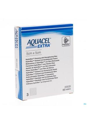 Aquacel Extra Verb Hydrofiber+versterk. 5x 5cm 33090958-20