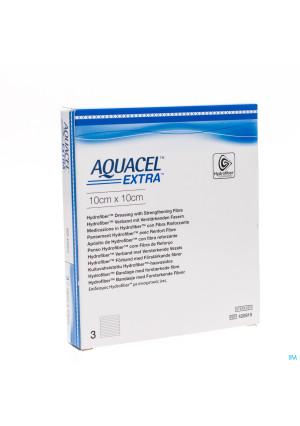 Aquacel Extra Verb Hydrofiber+versterk. 10x10cm 33090966-20