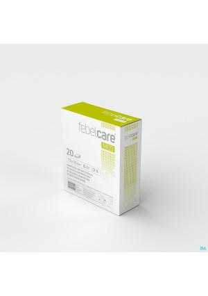 Febelcare Gaaskompres Steriel 7,5x 7,5cm 20x13093358-20