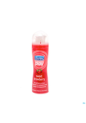 Durex Play Sweet Strawberry Glijmiddel Gel 50ml3095528-20