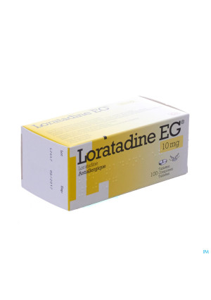 Loratadine Eg 10mg Tabl 100 X 10mg3111432-20