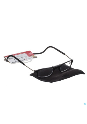 Clipyreader Bril +3.00 Zwart3114295-20