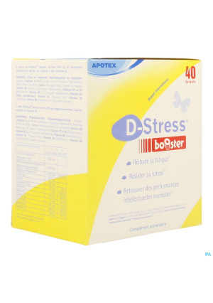 D-stress Booster Pdr Zakje 403131414-20