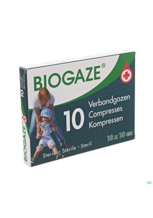 Biogaze Verbandgaas Geimpregneerd 10x10cm 103136231-20