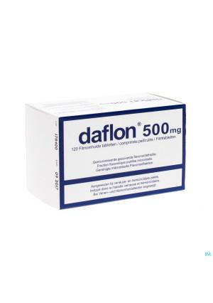 Daflon Impexeco Comp 120x500mg Pip3153152-20