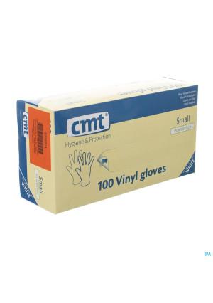 Cmt Handschoenen Vinyl Z/poeder S 1003203999-20