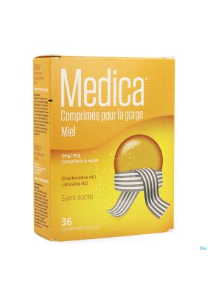 Medica Keeltabletten Honing Zuigtabl 363216462-20