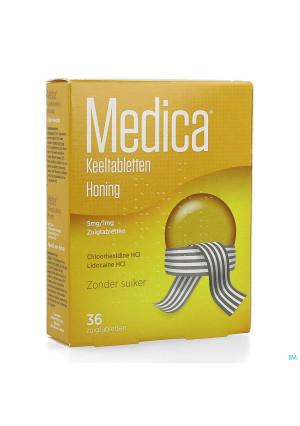 Medica Keeltabletten Honing 36 zuigtabletten3216462-20