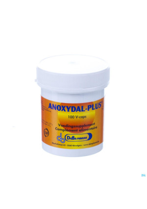 Anoxydal Plus V-caps 100 Deba3241619-20