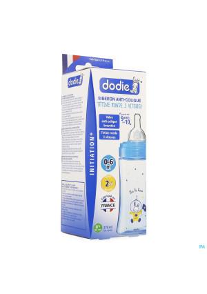 Dodie Zuigfles Initiatie+ Blauw 270ml3246790-20