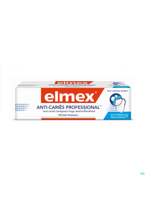 ELMEX® ANTI-CARIËS PROFESSIONAL™ TANDPASTA TUBE 75ML3248028-20