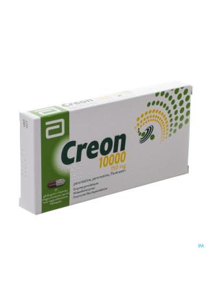 Creon 10000 Caps Maagsapresist Hard 20 X 150mg3261450-20