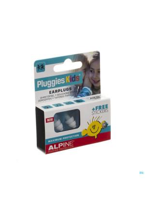Alpine Pluggies Kids Oordoppen 1p3263878-20