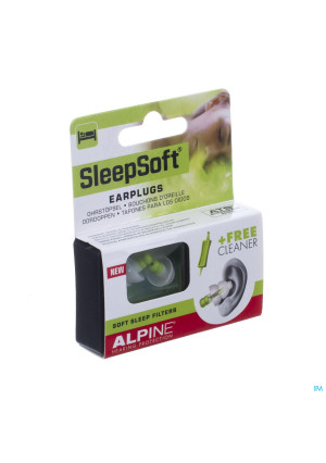 Alpine Sleepsoft Oordoppen New 1p3263886-20