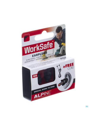 Alpine Worksafe Oordoppen New 1p3263910-20