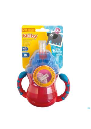 Nûby Flip-It™ antilekbeker met handvatten 240ml 12m+ 3265113-20