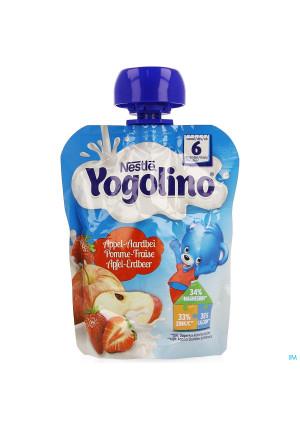 Nestle Yogolino Appel Aardbei Pouch 90g3268091-20