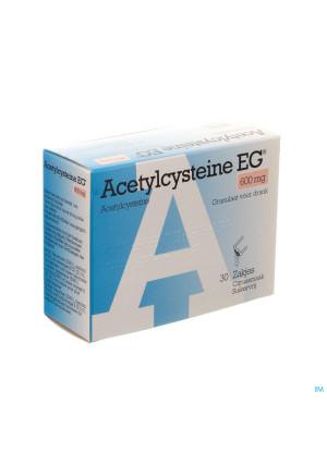 Acetylcysteine Eg 600mg Gran. Vr Drank Zakje 303276078-20