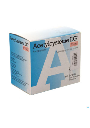 Acetylcysteine Eg 600mg Gran. Vr Drank Zakje 603276086-20