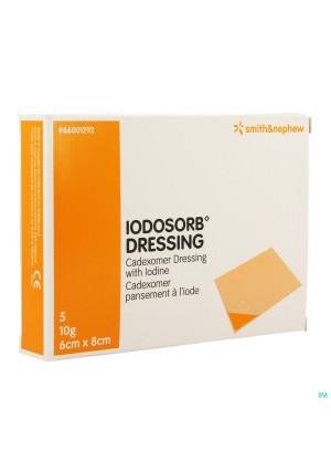 Iodosorb Dressing 10g 6x 8cm 5 660012923291093-20
