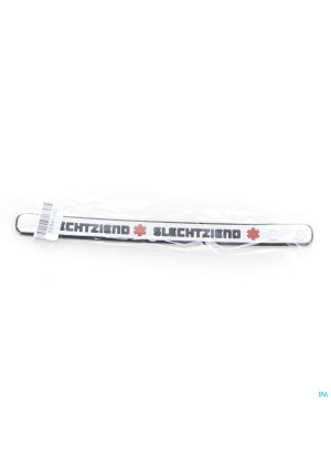 Armband Silicone Slechtziend3296282-20