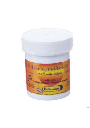Ashwagandha 400 V-caps 60 Deba3319811-20