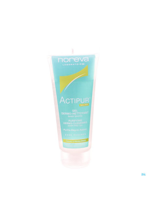 Actipur Gel Dermo-reinigend Z/zeep Tube 100ml3321767-20