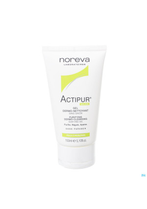 Actipur Gel Dermo-reinigend Z/zeep Tube 150ml3321775-20