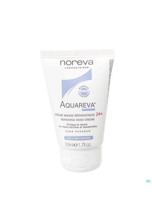 Aquareva Handcreme Herstellend 24u Tube 50ml3321916-20