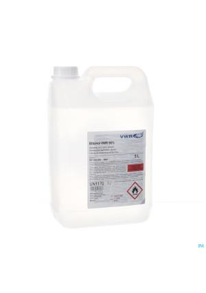 Ethanol Vwr 96% Opl Voor Cutaan Gebruik Fl 5l3328622-20