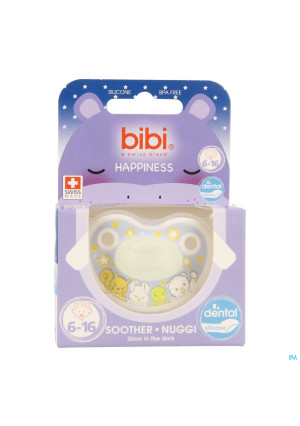 Bibi Fopspeen Dental Glow In The Dark 6-16m3366275-20