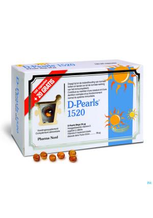 D-pearls 1520 Caps 100+20 Promo3375037-20