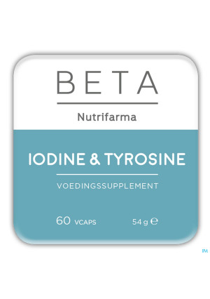 Beta Iodine and Tyrosine V-caps 603375326-20