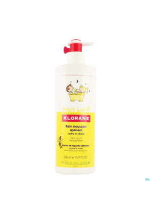 Klorane Petit Junior Badschuim Pompfl 500ml3402054-20