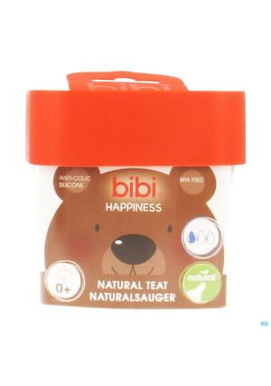 Bibi Zuigspeen Happiness Fles 0+3411246-20