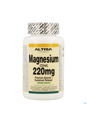Altisa Magnesium Ctrat 220mg Tr Comp 1003417623-20