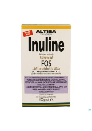 Altisa Inuline Adv.fos Preflora+proflora Mix 500g3420254-20