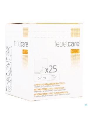 Febelcare Med2 Komp.n/inkl. Ster. 5,0x 5,0cm 25x13432069-20