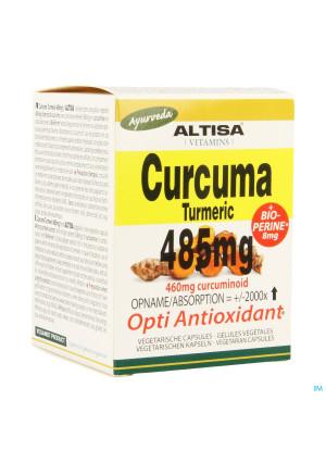 Altisa Curcuma Extr. 485mg + Piperine V-caps 503456852-20