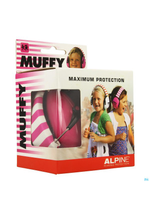 Alpine Muffy Koptelefoon Kids Roze/wit3479086-20