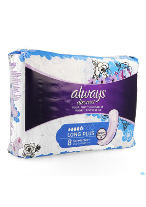 Always Discreet Incontinence Pad Long Plus 83496197-20