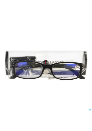 Pharmaglasses Visionblue Pc01 Leesbril +0.00 Black3499266-20