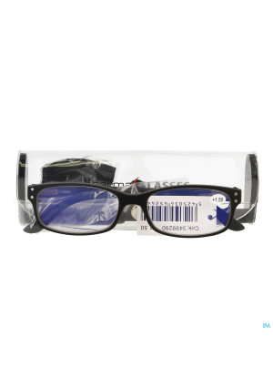 Pharmaglasses Visionblue Pc01 Leesbril +1.50 Black3499290-20